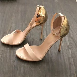 Sergio Rossi Ankle Strap Heels
